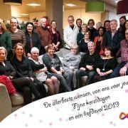 Kerstgroet Stichting Optimale Ondersteuning bij kanker 2018