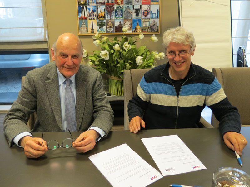 Stichting OOK en Stichting BRON Campus voor goede ondersteuning bij kanker