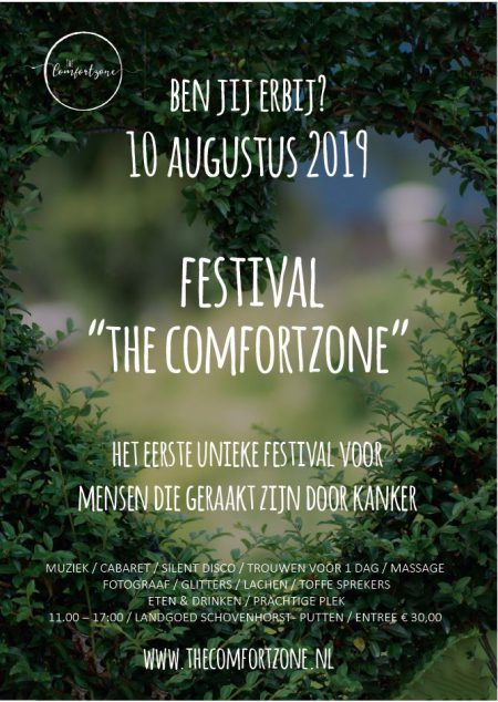 Flyer The Comfortzone - Stichting Optimale Ondersteuning bij Kanker