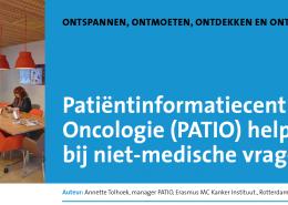 Artikel PATIO Annette Tolhoek - Oncologica V&VN