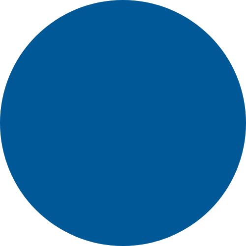 Cirkel blauw